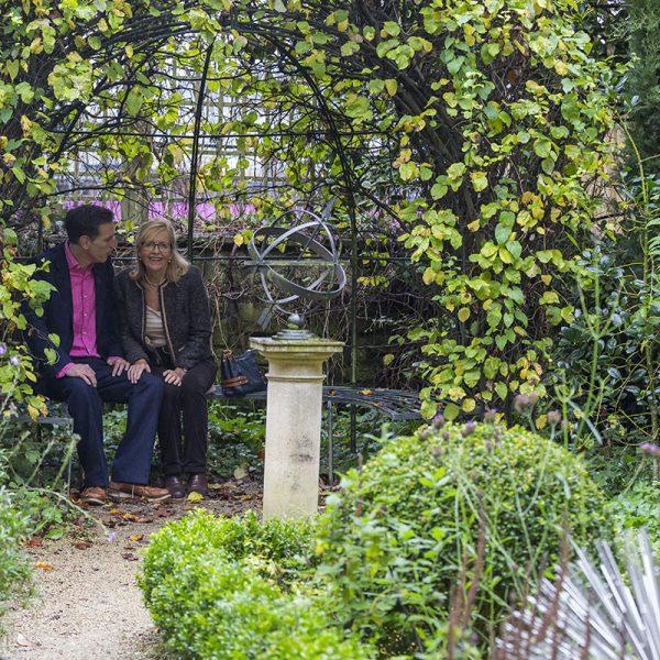 The Garden at the Herschel Museum