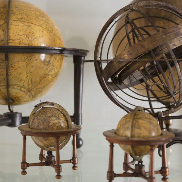 Globes at The Herschel Museum