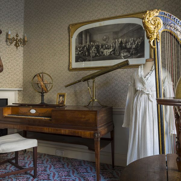 The Music Room at The Herschel Museum